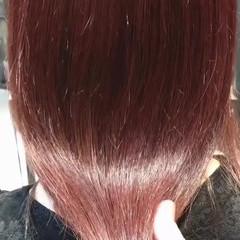ブリーチなし ピンクラベンダー ナチュラル oggiotto ヘアスタイルや髪型の写真・画像