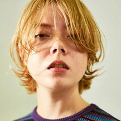 ボブ マッシュウルフ コテ巻き モード ヘアスタイルや髪型の写真・画像