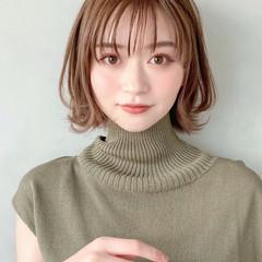 デジタルパーマ 大人かわいい アンニュイほつれヘア オフィス ヘアスタイルや髪型の写真・画像