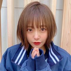 ミニボブ モテ髪 ショートボブ ショート ヘアスタイルや髪型の写真・画像
