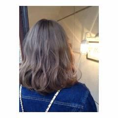ストリート ブリーチ ゆるふわ ガーリー ヘアスタイルや髪型の写真・画像