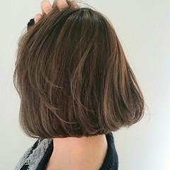 ストリート ボブ ハイライト 大人かわいい ヘアスタイルや髪型の写真・画像