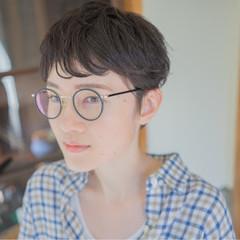 アッシュ 外国人風 パーマ ナチュラル ヘアスタイルや髪型の写真・画像