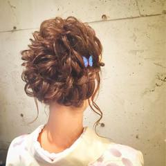 結婚式 デート 梅雨 ヘアアレンジ ヘアスタイルや髪型の写真・画像