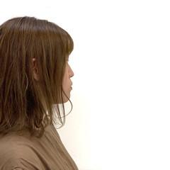 ナチュラル ミルクティーベージュ ボブ ハイライト ヘアスタイルや髪型の写真・画像