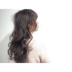 暗髪 ストリート ロング 黒髪 ヘアスタイルや髪型の写真・画像