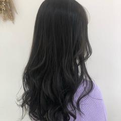 ナチュラル 暗髪 おしゃれさんと繋がりたい 透明感カラー ヘアスタイルや髪型の写真・画像