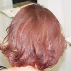 ボブ 春 ゆるふわ フェミニン ヘアスタイルや髪型の写真・画像
