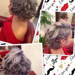 ストリート 渋谷系 ヘアアレンジ モテ髪 ヘアスタイルや髪型の写真・画像