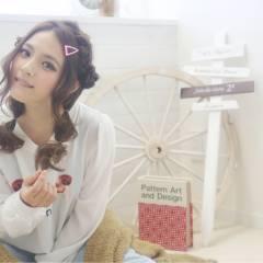 ヘアアレンジ ストリート 三つ編み モード ヘアスタイルや髪型の写真・画像