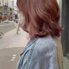 ナチュラル可愛い ナチュラル お洒落 ピンクベージュ ヘアスタイルや髪型の写真・画像