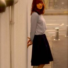 愛され ストリート セミロング コンサバ ヘアスタイルや髪型の写真・画像