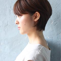 かっこいい モード 抜け感 耳かけ ヘアスタイルや髪型の写真・画像