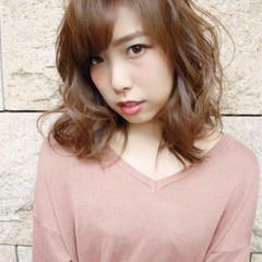 モテ髪 ゆるふわ ガーリー 大人女子 ヘアスタイルや髪型の写真・画像