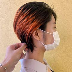 ブリーチ ショートヘア ブリーチ必須 ショート ヘアスタイルや髪型の写真・画像