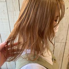 ガーリー 透明感カラー ブリーチ ブリーチ必須 ヘアスタイルや髪型の写真・画像