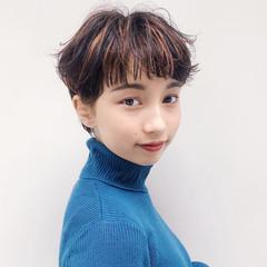 マッシュ ショート モテ髪 ナチュラル ヘアスタイルや髪型の写真・画像