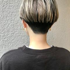 刈り上げショート 刈り上げ女子 ショートヘア スポーツ ヘアスタイルや髪型の写真・画像