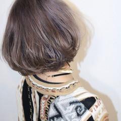 モード ハイライト ボブ ハイトーン ヘアスタイルや髪型の写真・画像