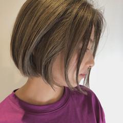 ショート ボブ ナチュラル ショートボブ ヘアスタイルや髪型の写真・画像