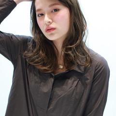 大人女子 かっこいい ロング コンサバ ヘアスタイルや髪型の写真・画像