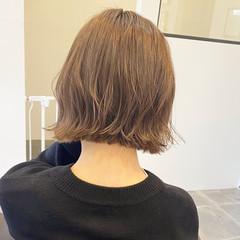 ミニボブ アンニュイほつれヘア ショート ショートヘア ヘアスタイルや髪型の写真・画像