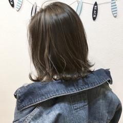 ボブ 透明感 こなれ感 外国人風 ヘアスタイルや髪型の写真・画像