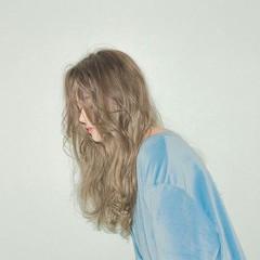 ハイライト 大人女子 小顔 アッシュ ヘアスタイルや髪型の写真・画像