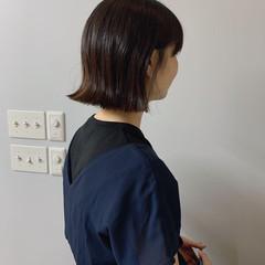 ボブアレンジ ライフスタイル ナチュラル シンプル ヘアスタイルや髪型の写真・画像