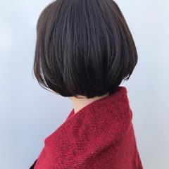 コンサバ ショートボブ ボブ 大人かわいい ヘアスタイルや髪型の写真・画像