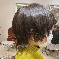 ショートヘア ショートボブ ウルフレイヤー ストリート ヘアスタイルや髪型の写真・画像