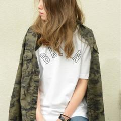 グラデーションカラー ストリート 外国人風 オン眉 ヘアスタイルや髪型の写真・画像