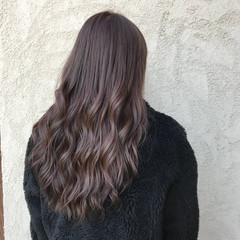 ナチュラル ロング グラデーションカラー 謝恩会 ヘアスタイルや髪型の写真・画像