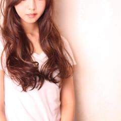 可愛い ふんわり 大人かわいい ロング ヘアスタイルや髪型の写真・画像