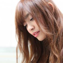 ロング ナチュラル ヘアアレンジ 外国人風 ヘアスタイルや髪型の写真・画像