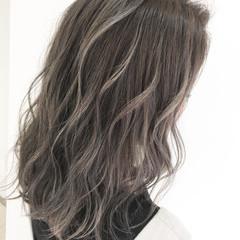 ハイライト モード ブリーチカラー インナーカラー ヘアスタイルや髪型の写真・画像