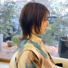 ウルフカット ウルフ女子 ナチュラルウルフ 大人ショート ヘアスタイルや髪型の写真・画像