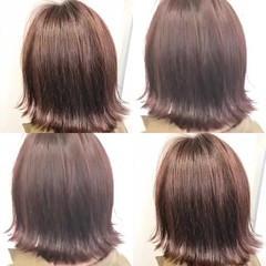 ストリート ボブ グラデーションカラー ダブルカラー ヘアスタイルや髪型の写真・画像