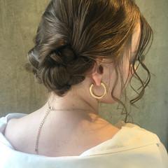結婚式 デート 成人式 ヘアアレンジ ヘアスタイルや髪型の写真・画像