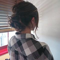 フェミニン ロング 成人式 ヘアアレンジ ヘアスタイルや髪型の写真・画像