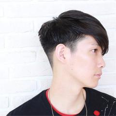 モード 黒髪 前髪あり ショート ヘアスタイルや髪型の写真・画像