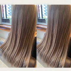 ナチュラル ロング 髪質改善 髪質改善トリートメント ヘアスタイルや髪型の写真・画像