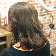 こなれ感 外ハネ 春 ミディアム ヘアスタイルや髪型の写真・画像