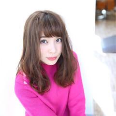 女子会 ヘアアレンジ デート フェミニン ヘアスタイルや髪型の写真・画像