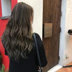 透明感 ナチュラル ハイライト 女子会 ヘアスタイルや髪型の写真・画像