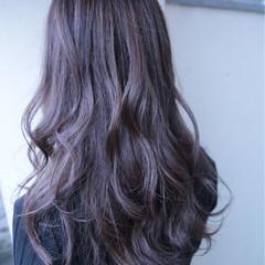 ブリーチなし 秋 冬 セミロング ヘアスタイルや髪型の写真・画像