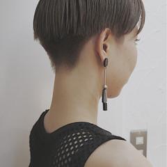 ショート モード ブリーチ 外国人風 ヘアスタイルや髪型の写真・画像