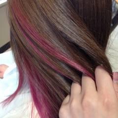 秋 黒髪 ピンク 愛され ヘアスタイルや髪型の写真・画像
