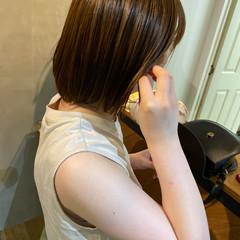 ミニボブ ショートヘア まとまるボブ ショートボブ ヘアスタイルや髪型の写真・画像