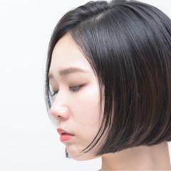 モード ショートボブ ボブ 大人女子 ヘアスタイルや髪型の写真・画像